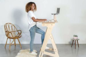 standing desk 300x200 - 5 Benefits of a Standing Desk